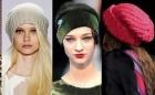 Moderne ženske pletene kape za jesen-zimu 2013/2014.