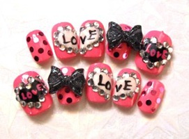 valentines-nailart