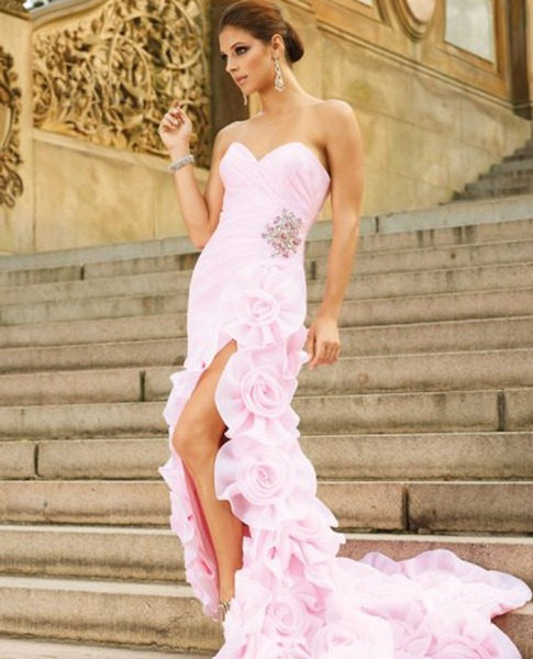 Long-Strapless-Pink-Prom-Gown-by-Terani