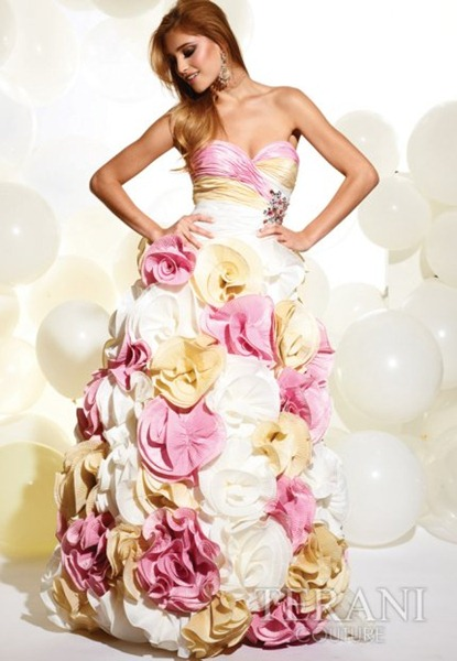 Strapless-Long-Pink-White-Prom-Dress-by-Terani