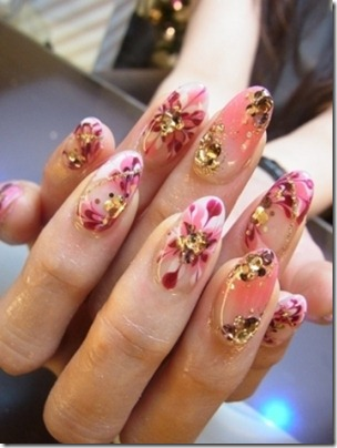 Marbled-Effect-Nails-Art