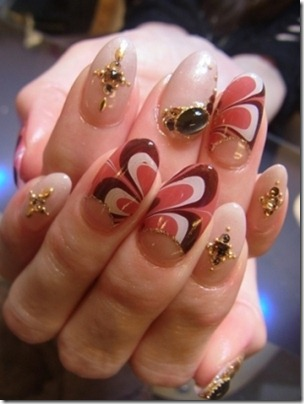 Marbled-Nail-Art-Design
