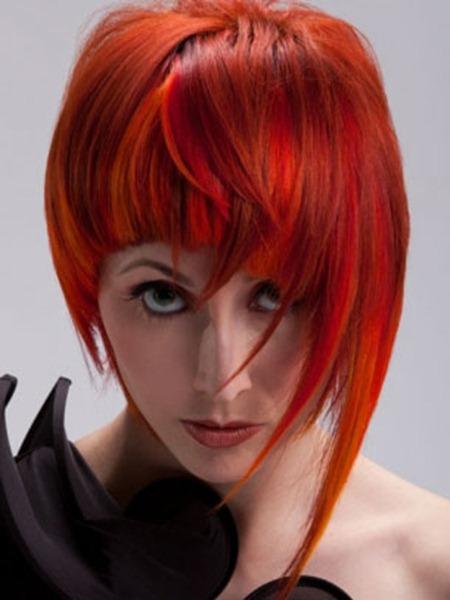Crvena-boja-za-kosu-frizura