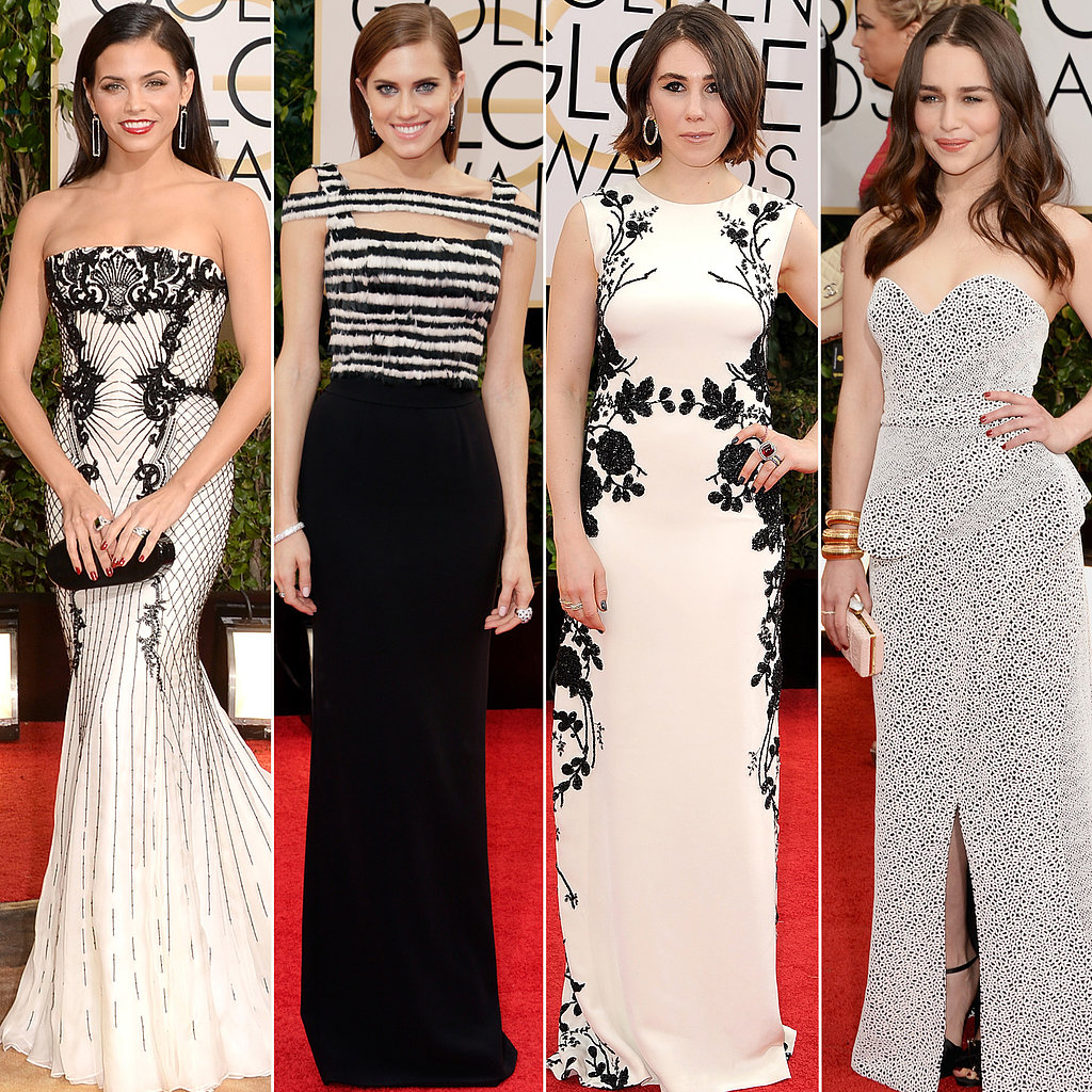 Black-White-Dresses-Golden-Globes-2014