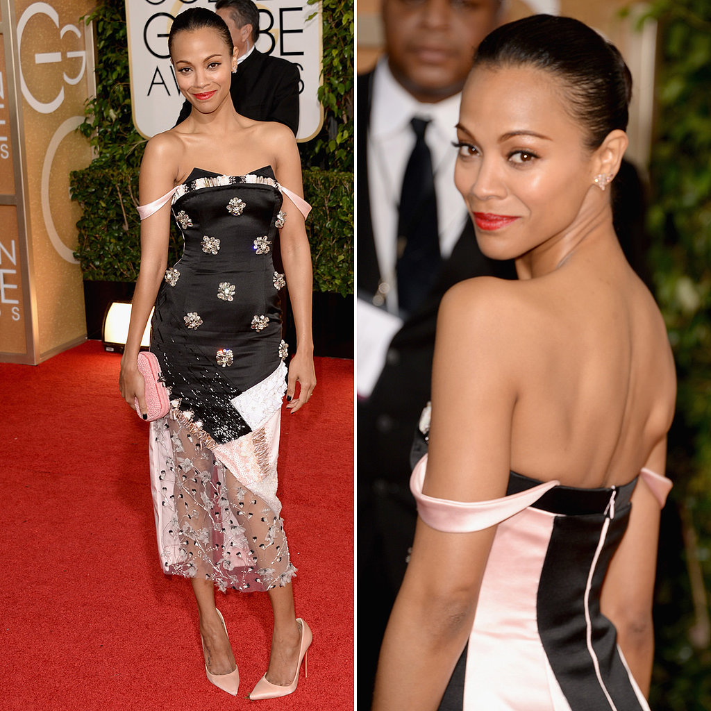 LIVE-2014-Golden-Globes-Red-Carpet-Zoe-Saldana