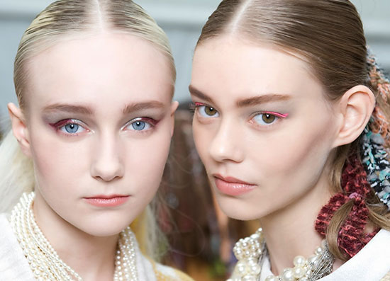 chanel-aw-2014-runway-beauty