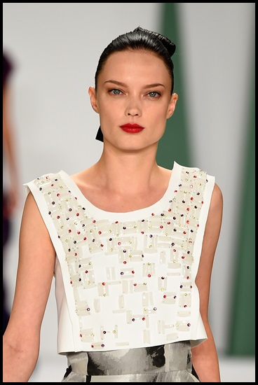 Carolina Herrera - Runway - Mercedes-Benz Fashion Week Spring 2015